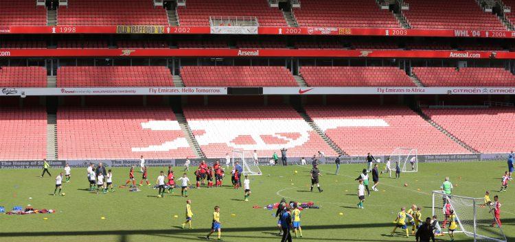 Play at Emirates Stadium